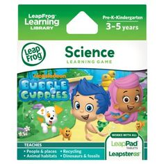 LeapFrog Learning Game: Bubble Guppies (for LeapPad Tablets and LeapsterGS), 2016 Amazon Top Rated Children's Software  #Software