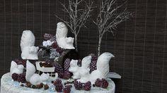 Świąteczne dekoracje do ogrodu