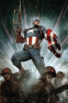 captain america comic book photos | Captain America – Does new comic book give clue for final costume ...