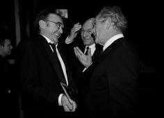 Danny Boyle, Patrick Stewart and Ian McKellen
