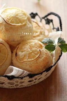 「レモン・ホット・ビスケット。」ChococoHS | お菓子・パンのレシピや作り方【corecle*コレクル】