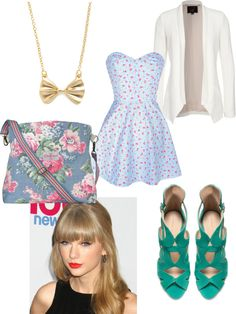 """Taylor Swift"" by ivonfernandez ❤ liked on Polyvore"