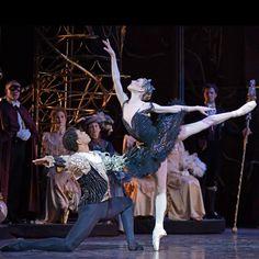 RB: Swan Lake (Carlos Acosta, Sarah Lamb)  The Royal Ballet in Swan Lake, February to April, 2015