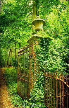 Ancient Castle Gate, Bruges, Belgium