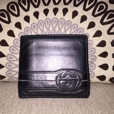 Authentic Men's Gucci wallet - with coin pocket Gucci Gucci, Gucci Bags, Wallet With Coin Pocket, Gucci Wallet, Mans World, Separate, Leather Wallet, Belts, Wallets