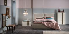 Trace #letto #bed #letto in legno #letto imbottito #wooden bed #padded bed