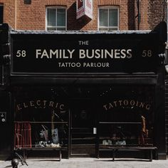 tattoo, tattoo shop, and family business image