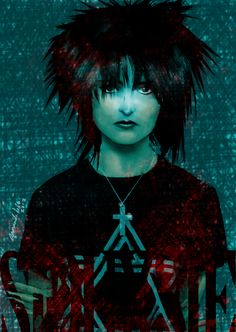 a tribute to great Siouxsie, she was the inspiration to create Death, the sister of Sandman. Siouxsie Sioux, Siouxsie & The Banshees, Goth Music, Punk Goth, The Clash, Ice Queen, Cinema, New Wave, Pony