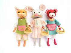 PRE ORDER Beatrice Bear Pixikin Chum Doll Making Kit by malphi, £16.95
