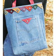 Praire point jeans bag