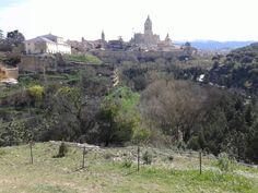 Vistas judería de Segovia