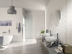 Manila Blanco - other metro - by Porcelanosa