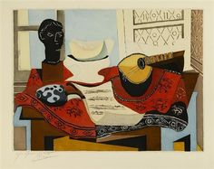 Picasso, Nature Morte (Picasso, Still Life)\