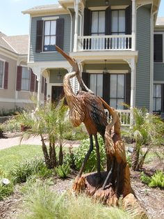 Galveston, TX. Carved from a tree destroyed by Hurricane Ike. Wood Carving Faces, Wood Carving Designs, Tree Carving, Wood Carving Patterns, Wood Carving Art, Wood Art, Wood Carvings, Galveston Texas, Galveston Island