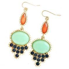 Jewel Drop Earrings by rosetta