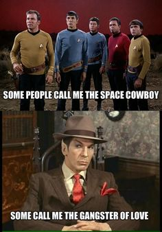 """but nobody calls him """"Maurice"""". that would just be illogical."""