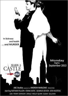 Fan-made Poster ~ Castle Season 6 ~ Awesome!