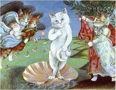 La naissance de Vénus (Botticelli).  Par Susan Herbert.