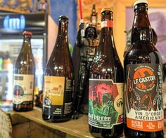 """A """"Support Local"""" blog post about an awesome craft beer store on Wellington in Verdun, Montreal, Quebec. Great local Quebecois beer. Photos and stories."""