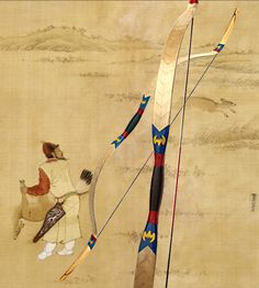 traditional Chinese archery - bow hand position