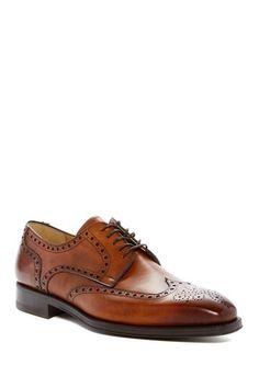 64b87dfc0add Image of Magnanni Saro Wingtip Oxford Wingtip Shoes