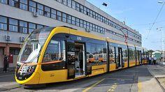 Új CAF villamosok Budapesten Buses, Hungary, Budapest, City, World, Trains, Busses, Cities