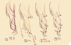 A slender of hair reference