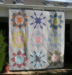 I finally finished my SWOON quilt, and I love it!