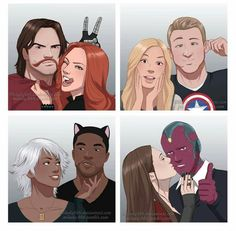BABIES <<< I LOVE THIS SO MUCH <<<<< bucky looks so happy im in love