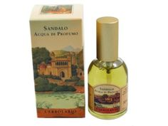 Sandalo (Sandalwood) Acqua di Profumo (Eau de Parfum) by L'Erbolario Lodi by L'Erbolario Lodi. $39.00. Sandalwood Acqua di Profumo (Eau de Parfum) by L'Erbolario Lodi is a proud and untamed scent, a small grain of seduction for those who like strong emotions, conquests and victory. Sandalwood Perfume tells of intensity and silence, with strong notes of generous, romantic and vital love. L'Erbolario Sandalwood Eau de Parfum is persistent, penetrating and intense,...