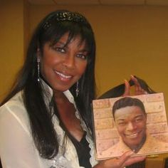 Nat King Cole and daughter Natalie Cole-I have that album...my dad gave it to me