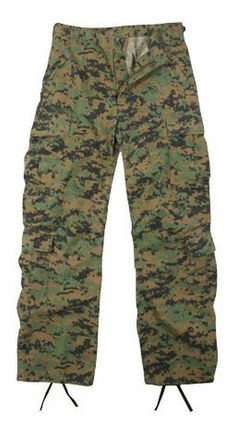 88d0e5dc4f036c ... Woodland Digital Camo Paratrooper Fatigues that are multi pocketed