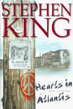 Hearts in Atlantis - Stephen King  I am not usually a fan of Stephen King, but this book I read in like a day and a half.