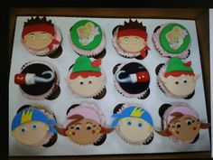 Kids loved the cupcakes! - pirates party - pirates food. Jake and Peter Pan