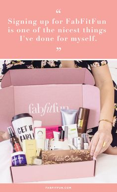 FabFitFun delivers boxes filled with over $200 of full-size beauty, skincare, haircare, accessories, + wellness to your door each quarter, for just $49.99 per box. Use code HAPPY to get your first box for $39.99 Plus, FREE SHIPPING