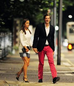 Pippa Middleton out with her boyfriend