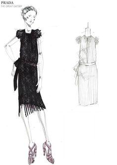 Prada expone sus diseños para el Gran Gatsby en Nueva York - C