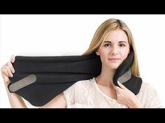Trtl Pillow Super Soft Neck Support Travel Pillow - Machine Washable (Black) New Best Neck Pillow, Neck Pillow Travel, Travel Pillows, Fashion Brands, Collection, Women, Grey, Amazon, Contour