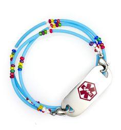 Boy Crazy Medical ID Bracelet