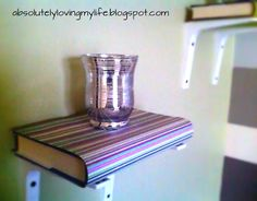 "Loving Life: DIY ""book"" Shelves"