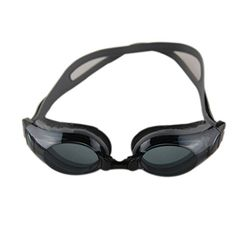1edde6d06638 Deercon Adjustable Unisex Adult Non Fogging AntiUV Swimming Goggles Swim  Glassesblack -- You can find