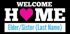 Mormon Missionary Banner With Heart | www.signs.com #lds