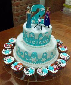 Torta Cumpleaños - Frozen