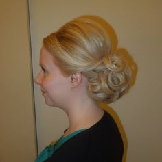 Formal hair, wedding hair, updo, prom  Hair by Christy: Simply Captivating On-Site Beauty Services