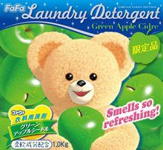 ファーファコンパクト洗剤 グリーンアップルシードル 1.0kg              ●柔軟剤から生まれた洗濯洗剤。  ●頑固な汚れをスッキリ洗浄しながら、天然柔軟成分がふんわりと心地いい肌ざわりに仕上げます。  ●部屋干しでもふわっと広がる「グリーンアップルシードル」のやさしい香り。