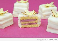 chocolate raspberry petit fours more petit fours fours candiquik petit ...