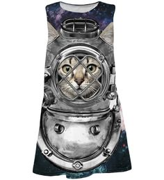 Astronaut Cat summer dress for kids Kids Line, Space Cat, Converse Chuck Taylor, High Top Sneakers, Product Launch, Mens Fashion, Summer Dresses, My Style, Cats