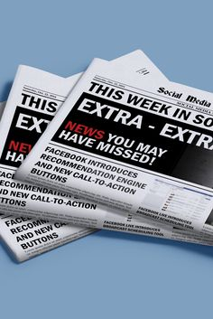 Facebook Auto-Shows Local Business Details in Recommended Comments: This Week in Social Media | 10-22-16 | Via @smexaminer.