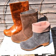 New clog boots coming soon! Will post as soon as they are online