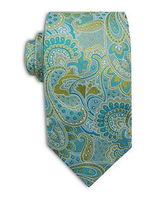 Geoffrey Beene Big and Tall Tie, Liberty Paisley - Mens Ties - Macy's $31.99